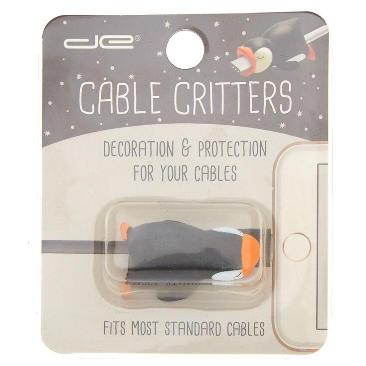 Penguin Cable Critter - Black,