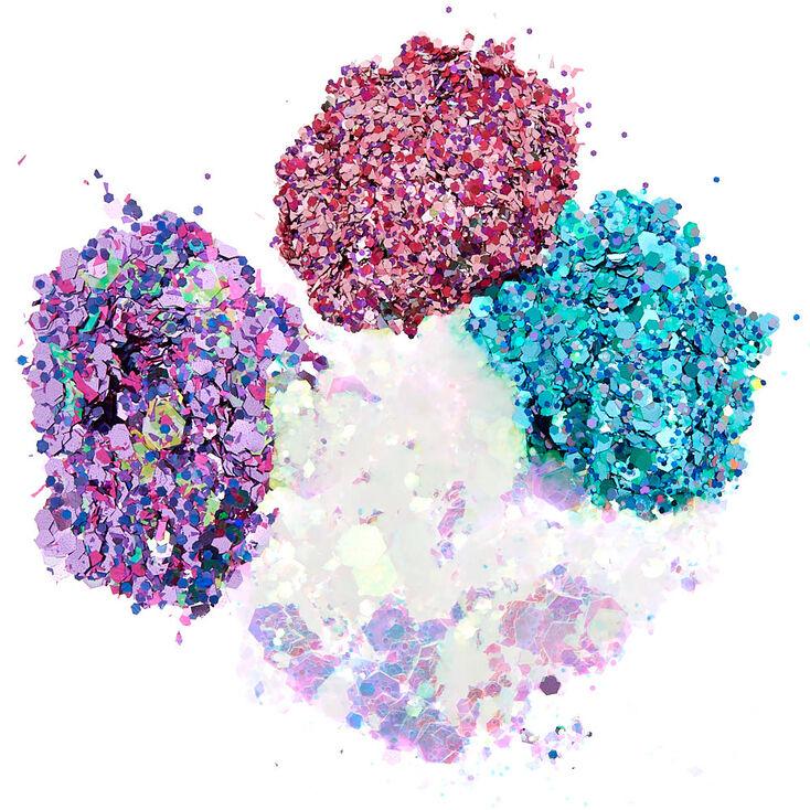 Cosmic Unicorn Dust Body Glitter - 4 Pack,