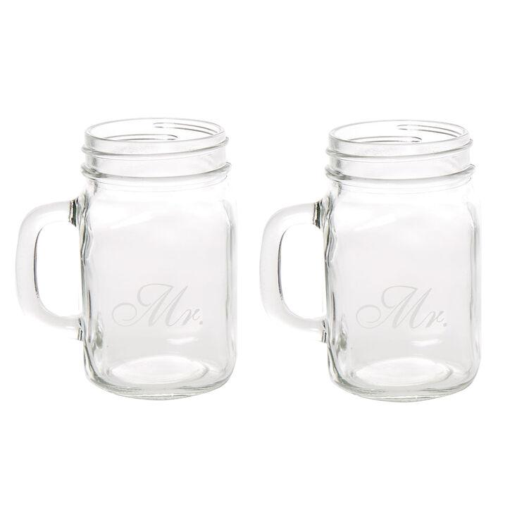 Mr. & Mr. Mason Jars,
