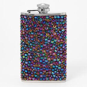 Purple Bling Stainless Flask,