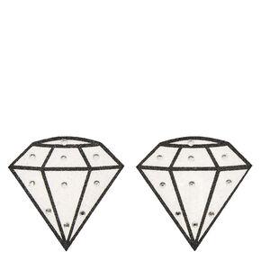 Diamond Peel & Stick Pasties,