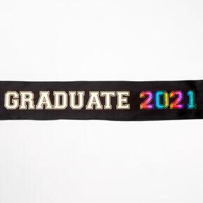 2021 Graduate Sash - Black,