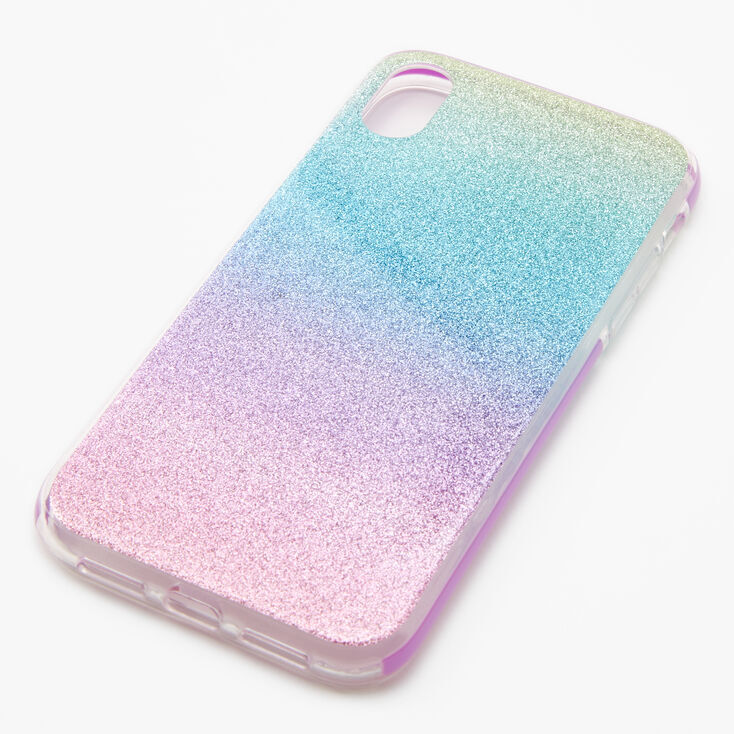 Pastel Glitter Ombre Phone Case - Fits iPhone® XR,