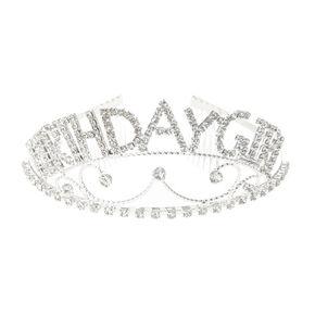 Rhinestone Birthday Girl Tiara,