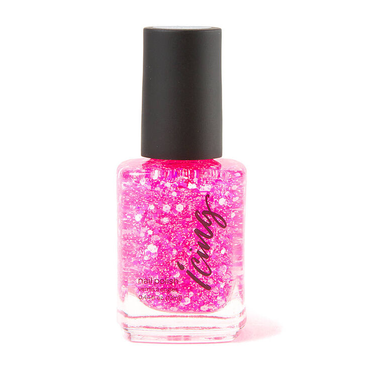 First Crush Splatter Nail Polish,