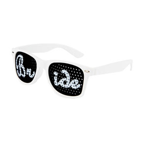 Bride Perforated Lens Sunglasses,