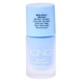 Sorbet Blue Matte Nail Polish,