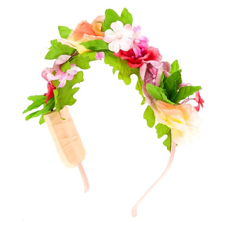 Light Up Summer Flower Crown Headband,