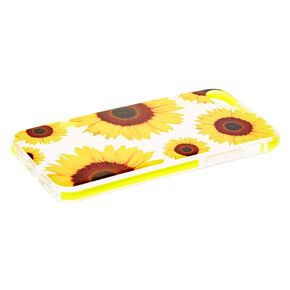 Sunflower Clear Protective Phone Case - Fits iPhone 6/7/8,