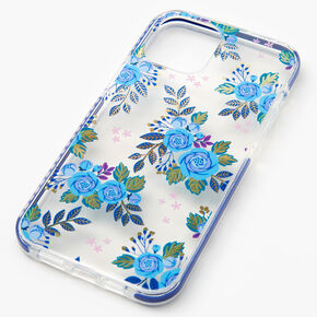 Navy Floral Phone Case - Fits iPhone 12 Pro Max,