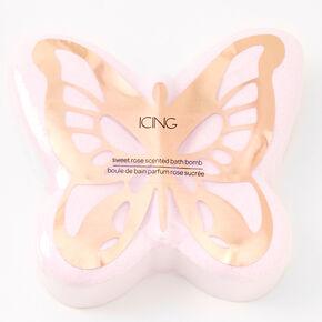 Butterfly Bath Bomb - Sweet Rose,