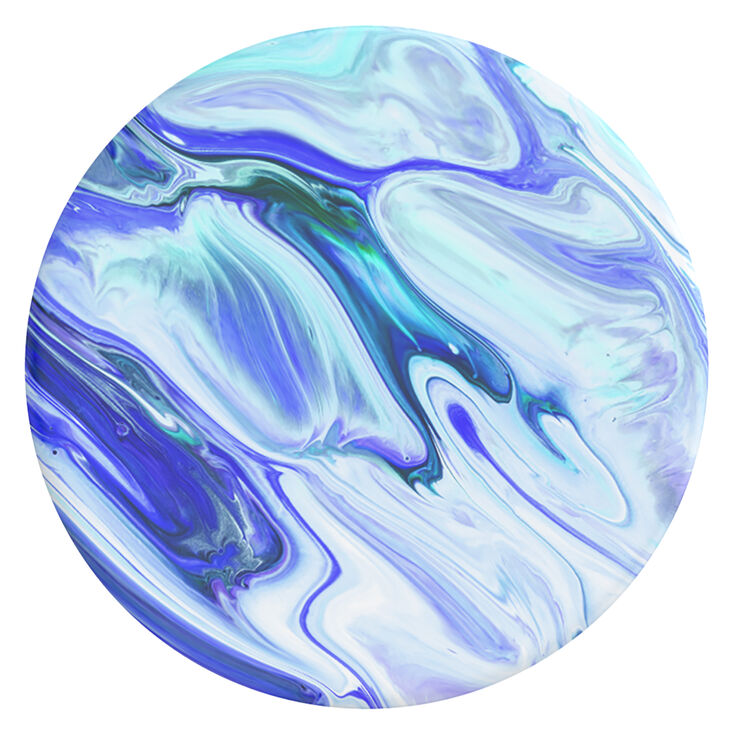 PopSockets Swappable PopGrip - Blue Marble,