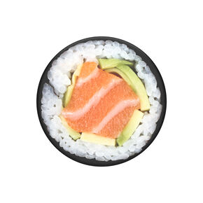PopSockets Swappable PopGrip - Salmon Roll,