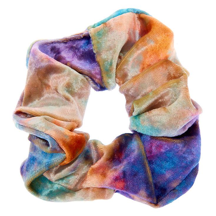 Tie Dye Velvet Hair Scrunchie,