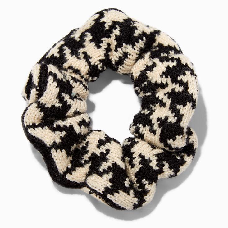 Pink Tinsel Double Chiffon Bow Hair Clip,