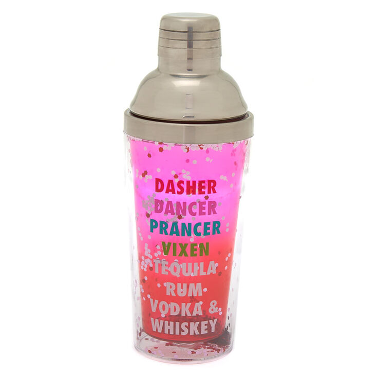 Dasher Dancer Vodka & Whiskey Cocktail Shaker - Pink,