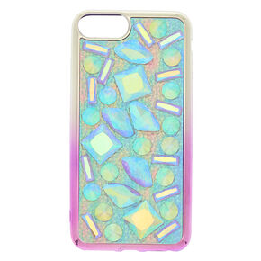 Iridescent Stone Phone Case,