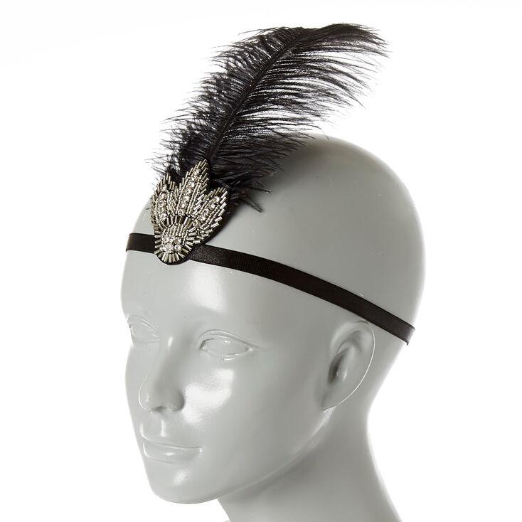 Vintage Art Deco Headwrap,