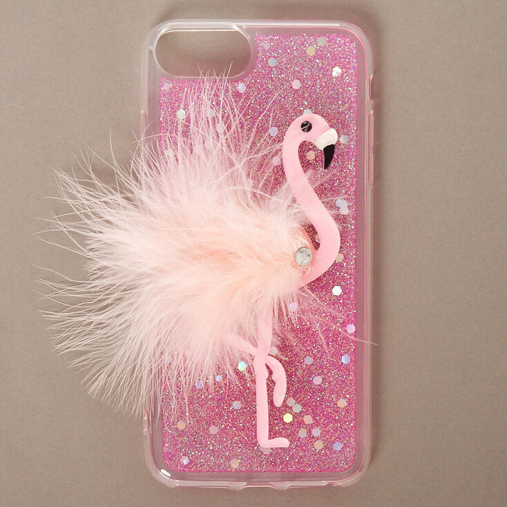 Pink Feather Flamingo Phone Case,