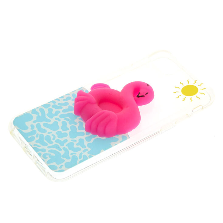 Squishy Flamingo Phone Case,