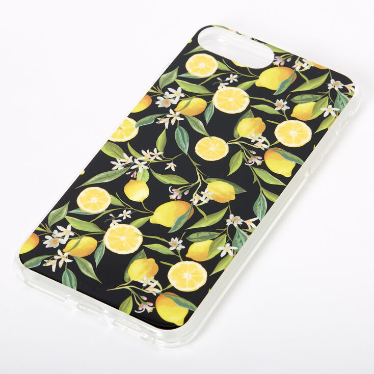 Black Lemon Protective Phone Case - Fits iPhone 6/7/8 Plus,