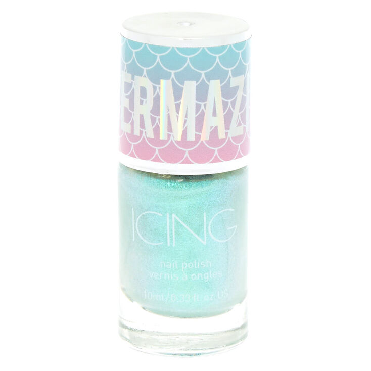 Mermazing Iridescent Nail Polish - Mermaid Mint,