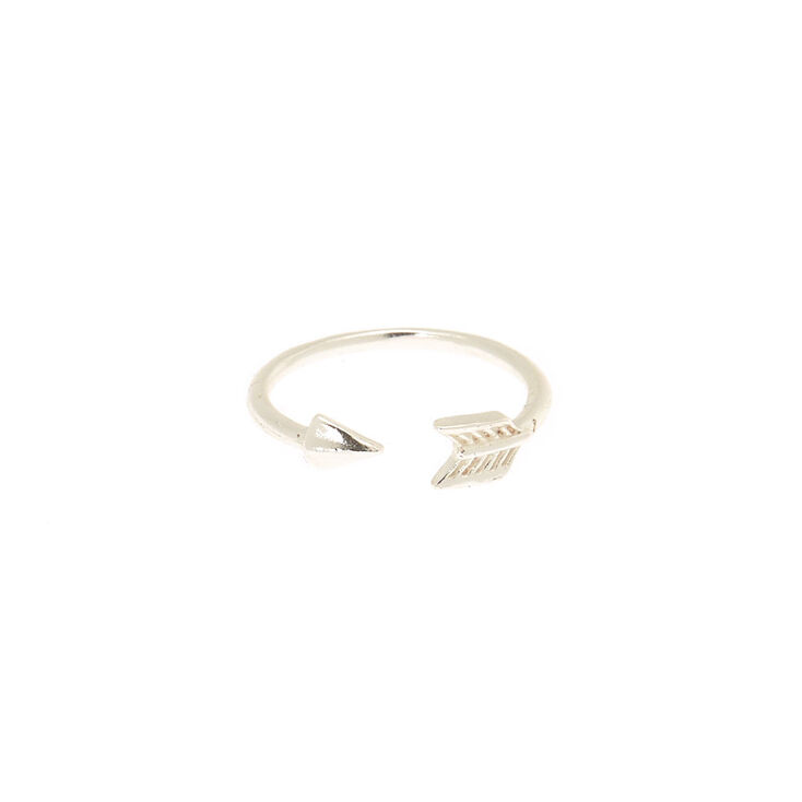 Sterling Silver Bow & Arrow Toe Ring,