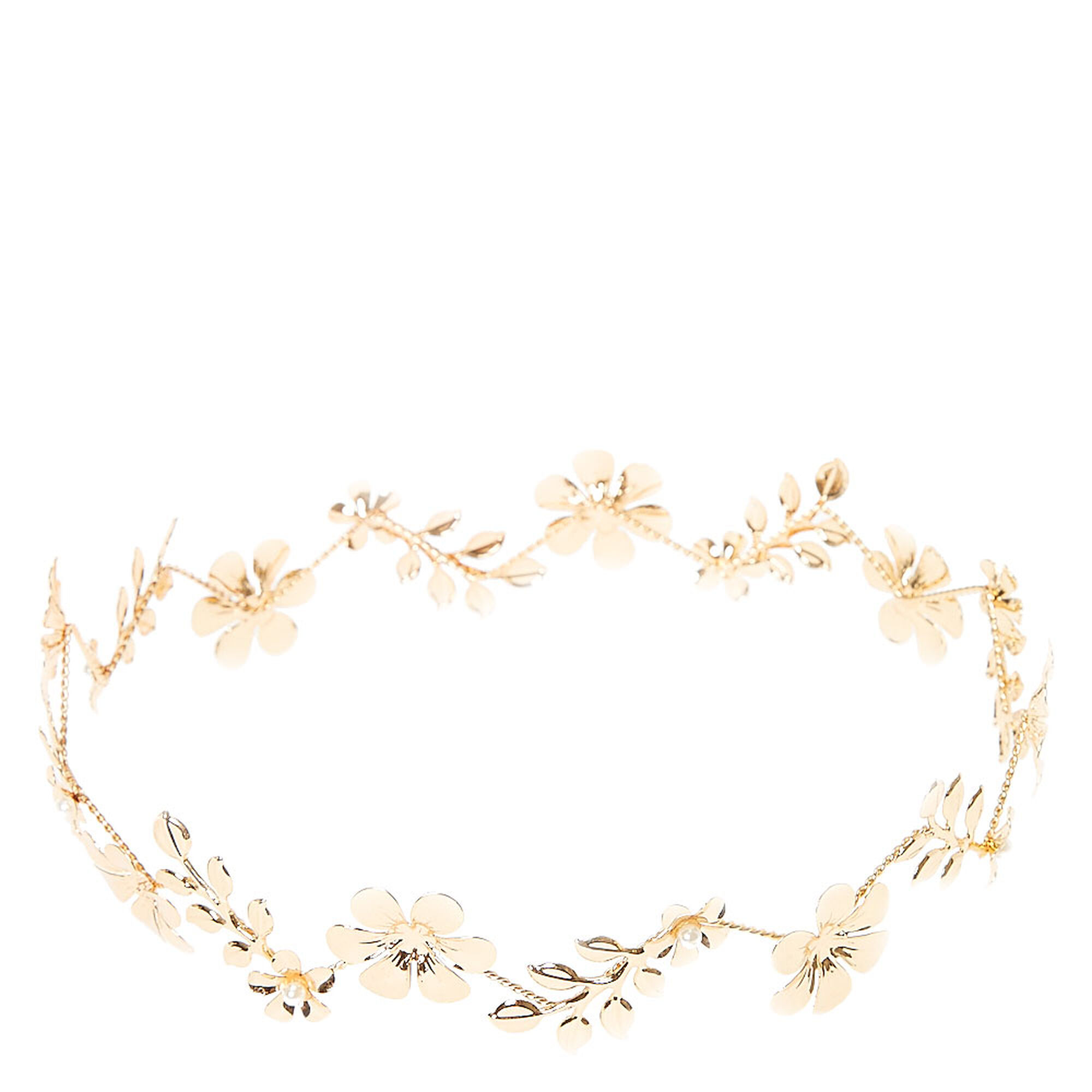 Gold flower crown icing us gold flower crown izmirmasajfo
