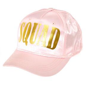 Pink Bridal Squad Baseball Cap,