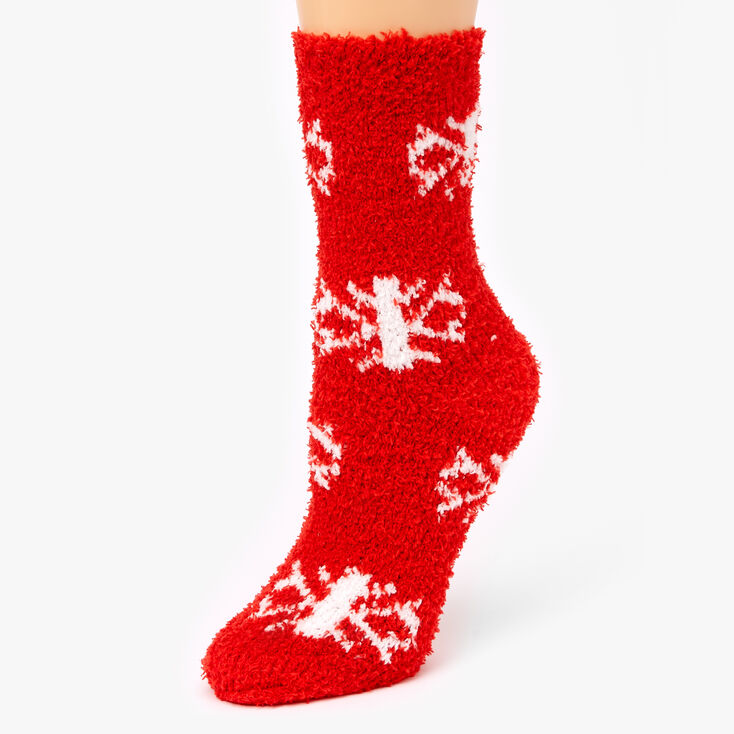 Cozy Holiday Crew Socks - 3 Pack,