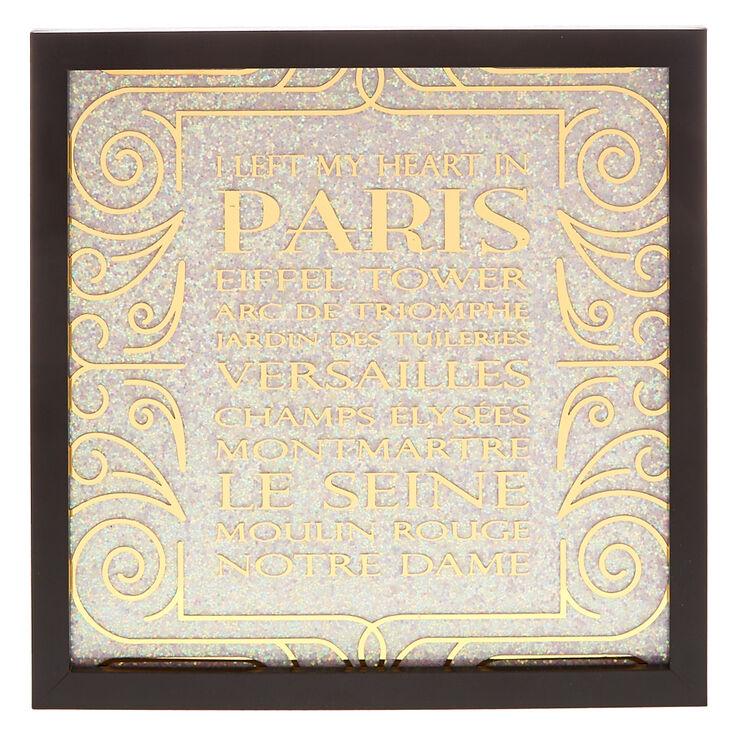 Left My Heart In Paris Wall Art,