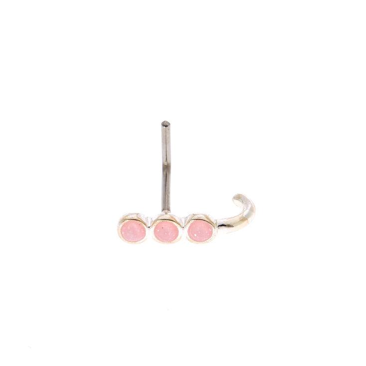 Opal Cuff Nose Ring,