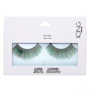 Faux Lashes - Green,
