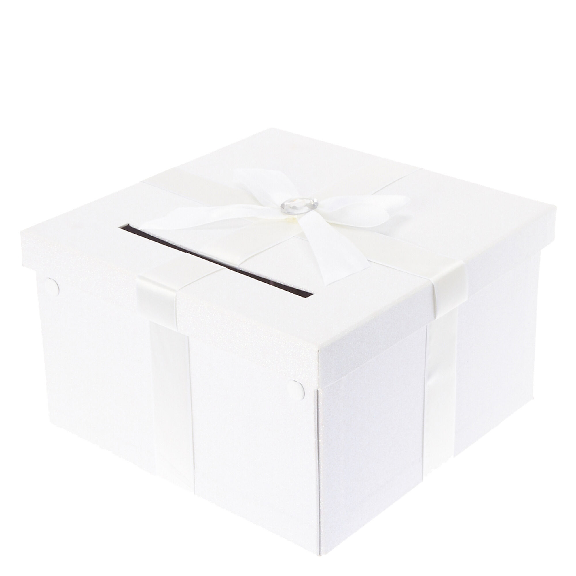 White Wedding Card box | Icing US