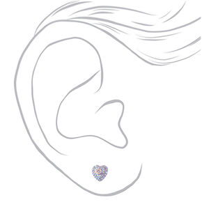 Iridescent Celestial Stud Earrings - 20 Pack,