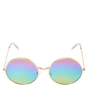 Round Rainbow Sunglasses,
