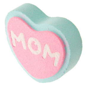 Mom Strawberry Scented Heart Bath Bomb,