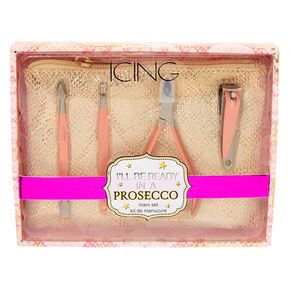 I'll Be Ready In A Prosecco Manicure Kit,