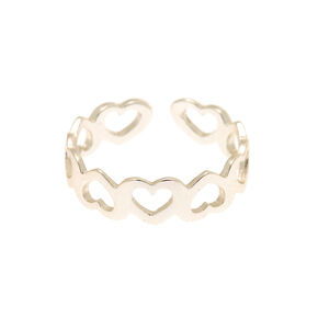 Sterling Silver Mini Heart Toe Ring,