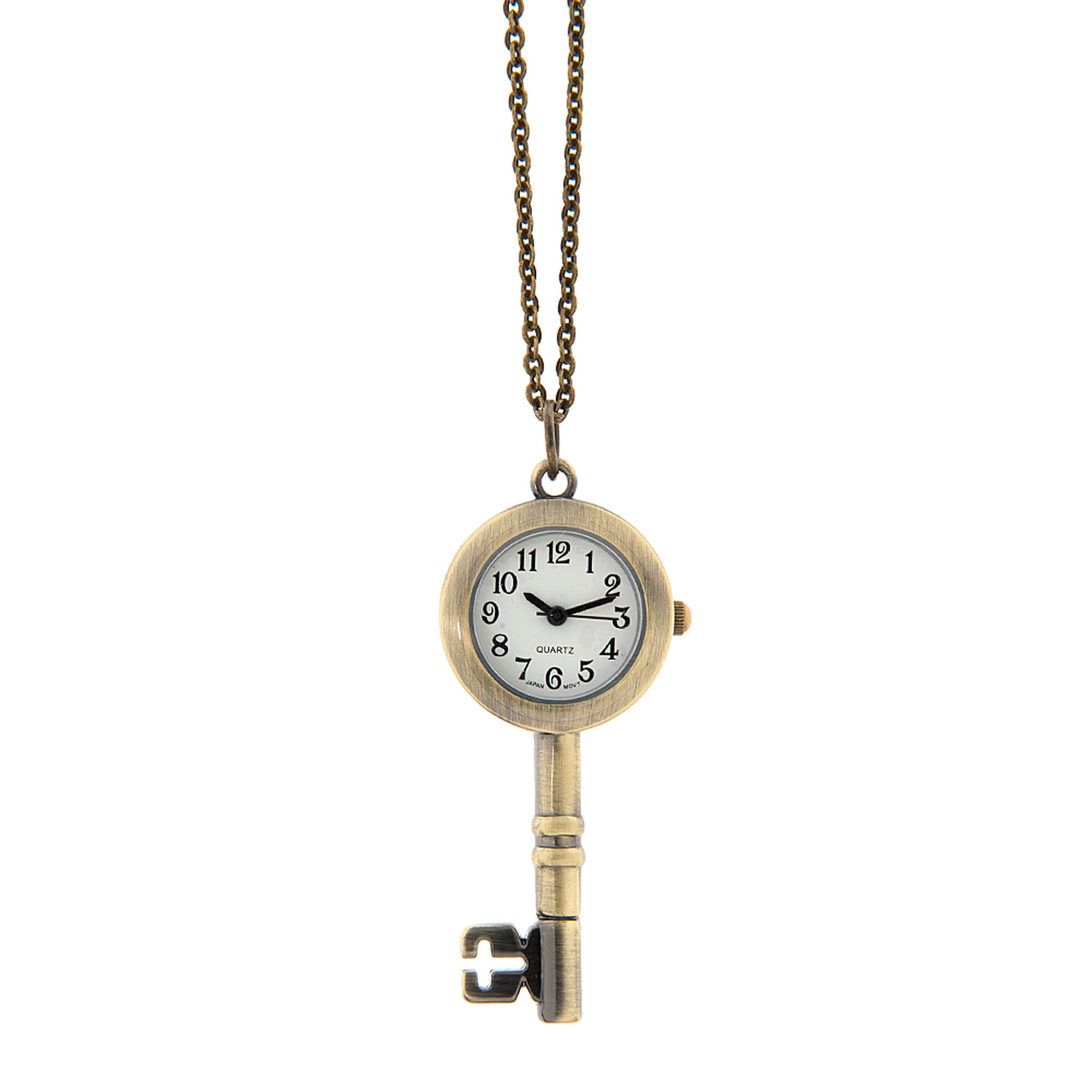 pendant products watch women open gotham with womens face chain antique tone s gold