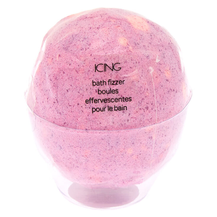 Embossed Stars Bath Bomb - Pink,