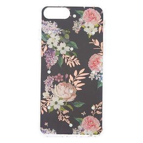 Swarovski® Crystal Floral Phone Case - Fits iPhone 6/7/8 Plus,