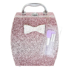 Glitter Bow Mega Cosmetic Set with Brushes,