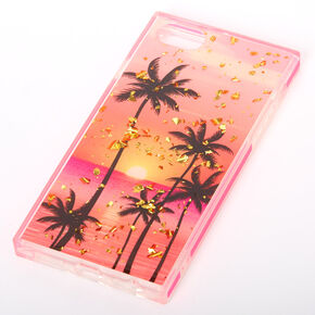 Palm Tree Sunset Rectangle Phone Case - Fits iPhone 6/7/8/SE,