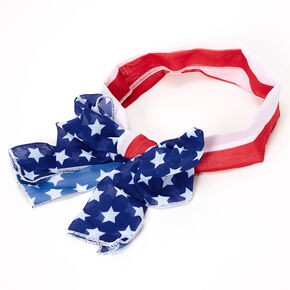 American Flag Headscarf,