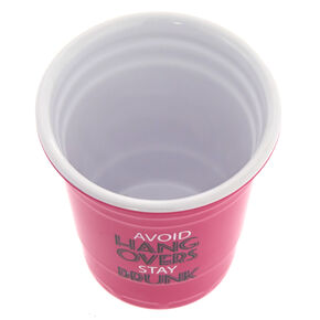 Avoid Hangovers Stay Drunk Shot Glass,