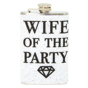 Wife of the Party Flask - White,