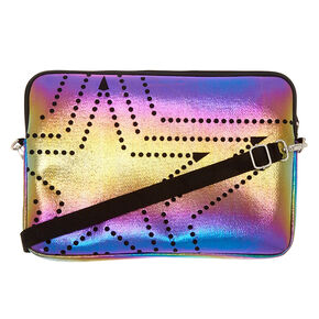 Metallic Rainbow Laptop Carrying Case,