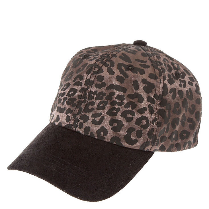 Leopard Print Baseball Hat  a7f17846352