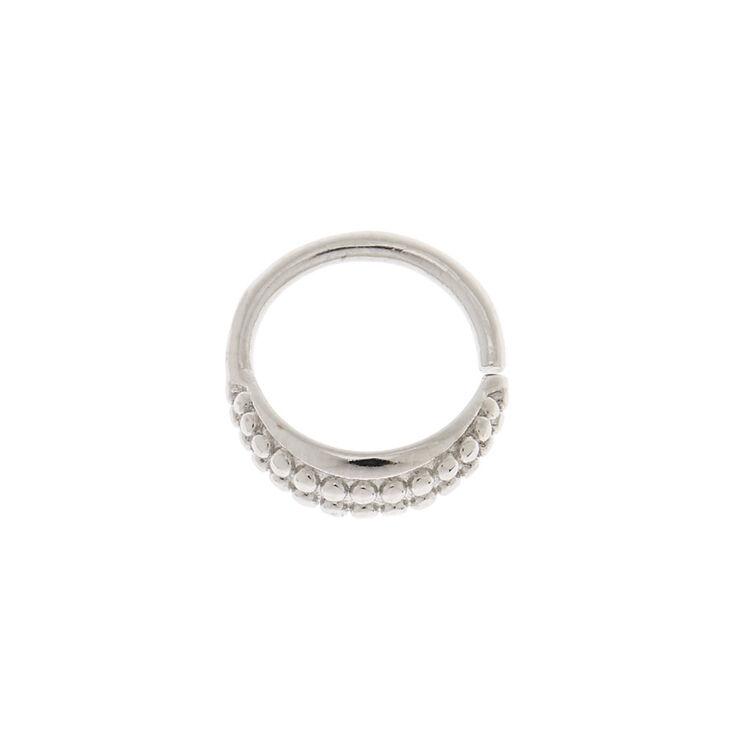Silver 16G Helix Hoop Earring,